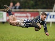 Logan Nicholson scored a penalty and a conversion but it wasn't enough for Portlaoise