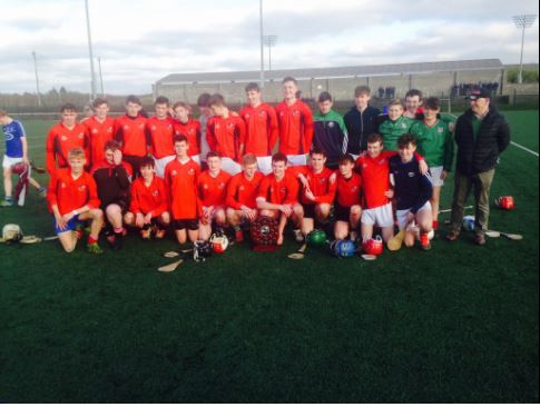 The victorious Clonaslee team after their win