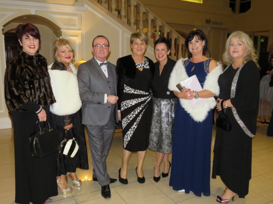 Some of the guests at the Charity Gala Ball in the Heritage Hotel in Killenard