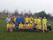 The Ballacolla team who won the league this morning
