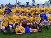Congratulations to the Colaiste Ísogáin lads on a brilliant victory
