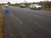 A garda was kicked in the eye at an incident at a checkpoint