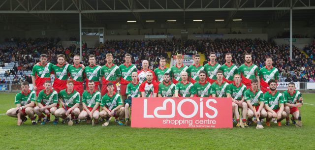 Borris in Ossory Kilcotton who defeated Rathdowney Errill in their SHC final replay at O'Moore Park. Picture: Alf Harvey/HRPhoto.ie