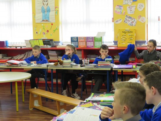 Third class in The Swan NS