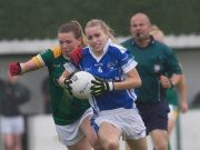 Laura Nerney scored a brilliant goal for Laois this afternoon but it wasn't enough