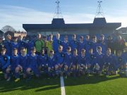 The Midlands Schoolboys League U-15 team who played in Manchester at the weekend
