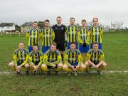The Towerhill Rovers team who suffered defeat today