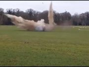 Dramatic moment Stradbally grenade is exploded