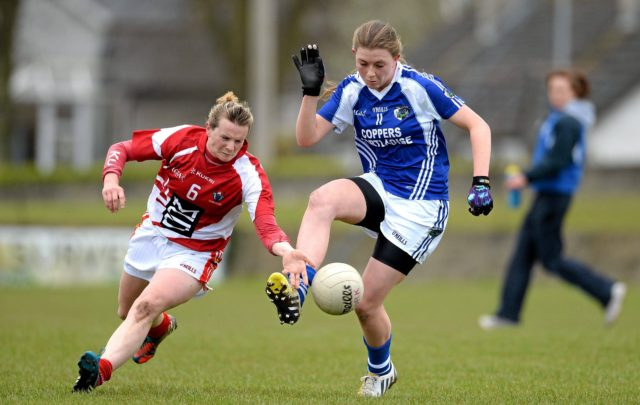Ciara Burke started for the Laois ladies today in their defeat to Westmeath