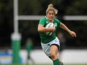 There was disappointment for Alison Miller and the Ireland ladies rugby team this evening
