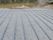 Raised Bed Percolation Area we recently completed in Ballinakill