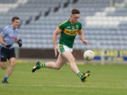 Gary Walsh was in full flight for Ballylinan today