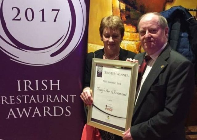 Tom and Marie Treacy at the Irish Restaurant Awards in the Lyrath Estate in Kilkenny