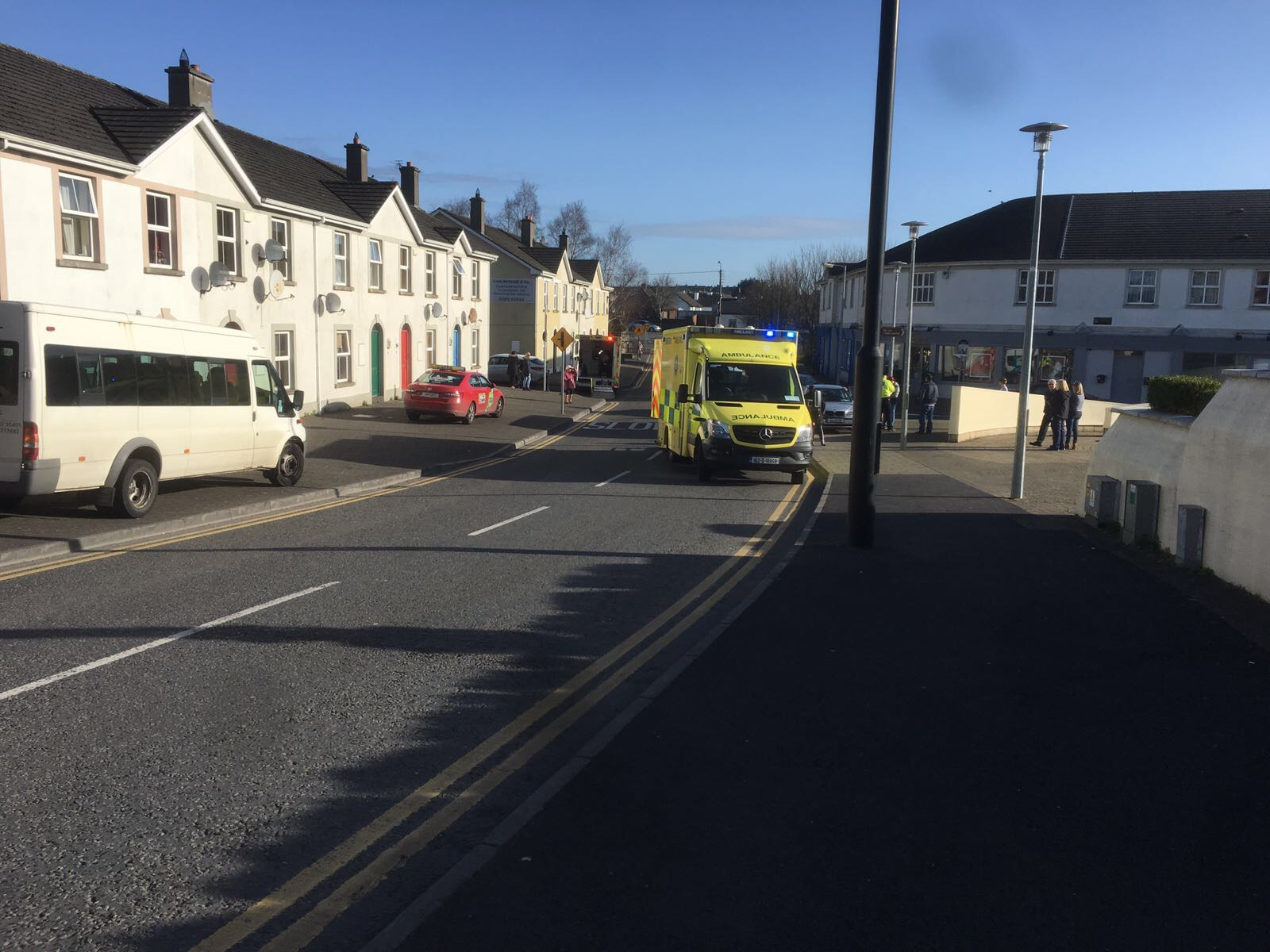 Picture of the scene at Towerhill