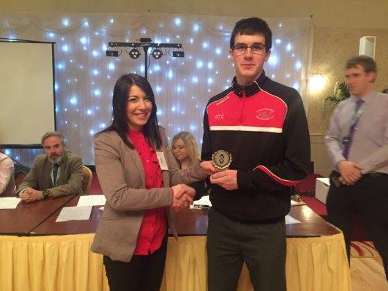 Eoin O'Connor - CBS Sportswear -3rd place for Sustainability