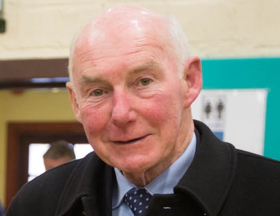 Cllr Jerry Lodge will celebrate 50 years as an elected representative this year