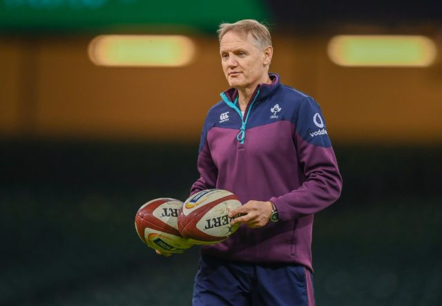 Ireland rugby head coach Joe Schmidt will be in Portlaoise tomorrow and so too will be Our Duke's Grand National trophy
