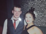 Kieran, who is hoping to be named Mr Personality, pictured with his girlfriend Caoimhe Kenny