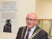 An Cathaoirleach Tom Mulhall MCC speaking at the launch of the James Fintan Lalor Autumn School 2016