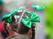 Having something green to put on your head is always very important on St Patrick's Day