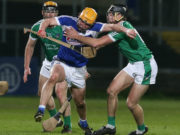 Laois were well beaten by Limerick in O'Moore Park tonight