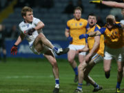 David Conway scored a great goal as Laois took on Longford in O'Moore Park