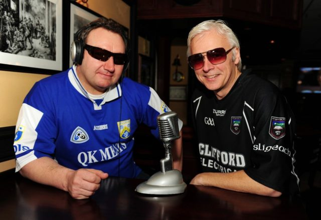 Abbeyleix native Mark O'Brien presents an Irish radio show called 'Ceol agus Craic' along with his good friend Ken Tracy from Sligo every Saturday morning in Toronto