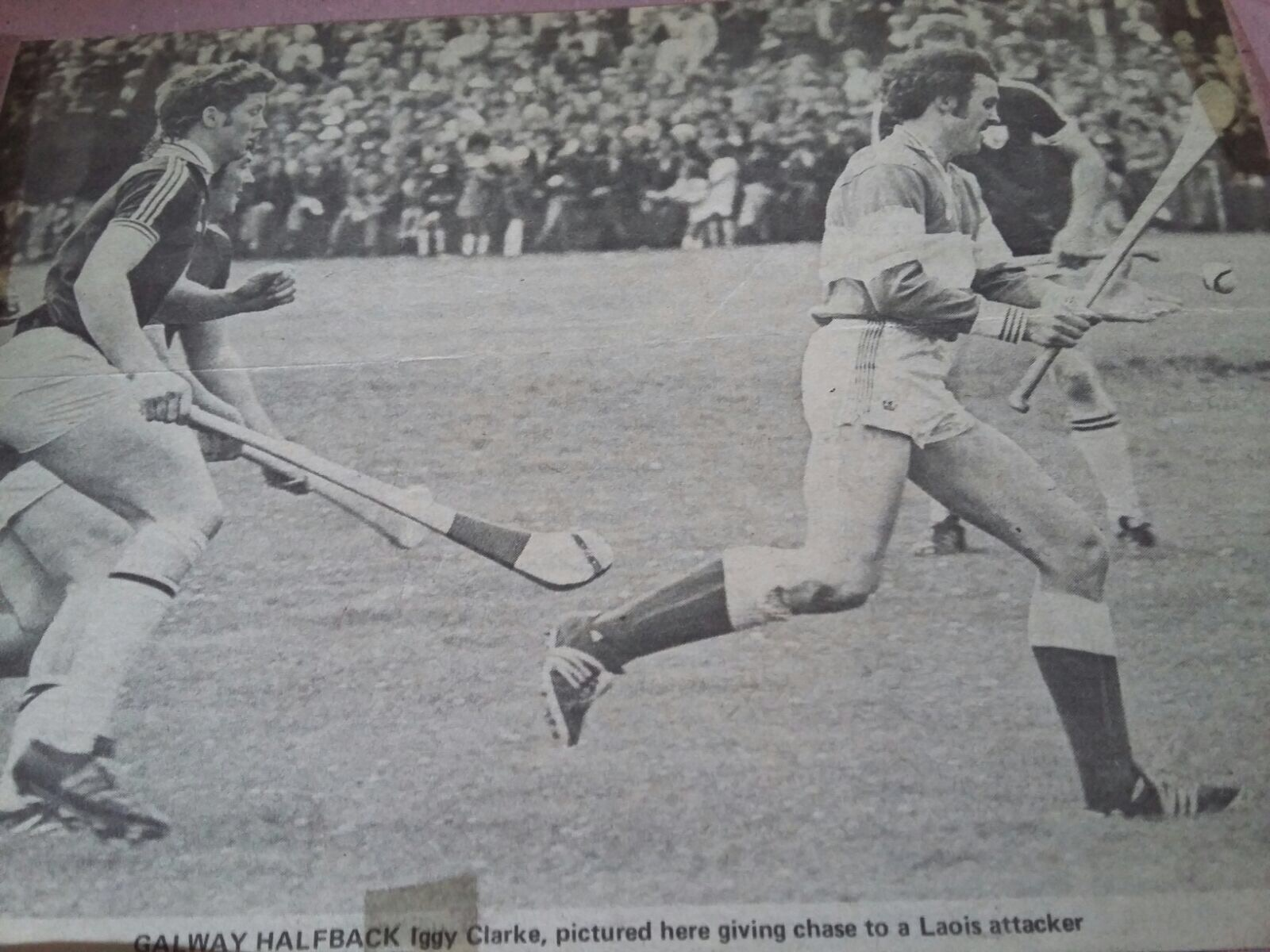 Michael Walsh in action against Cork