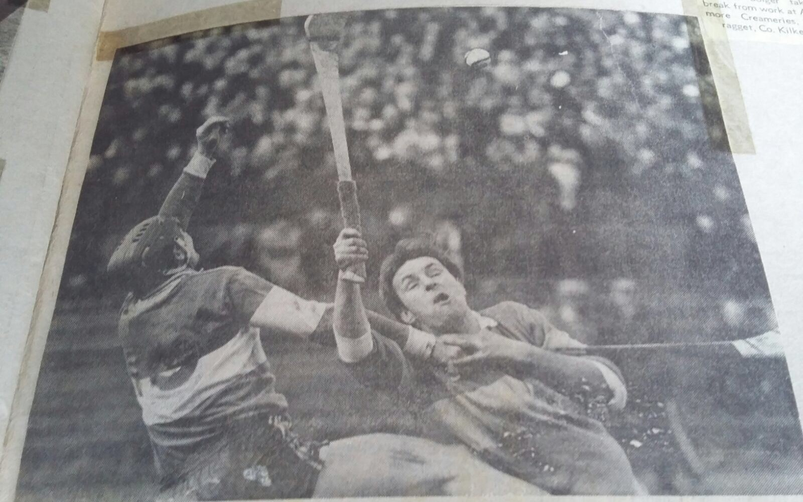 Michael Walsh in action against Tipperary