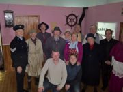 The Amphitheatre Company group from Clare who will perform 'The Field' in Mountmellick this weekend