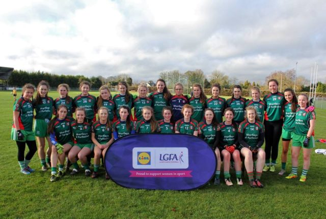 The Scoil Chríost Rí team who lost out in the All-Ireland semi-final
