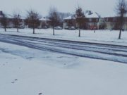 It was certainly a snow filled morning all over the county