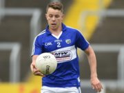 Laois captain Stephen Attride was forced off injured in today's Allianz Football League Division 3 clash against Antrim