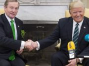 John Whelan says that Enda Kenny gave Donald Trump a right kicking on immigration on St Patrick's Day