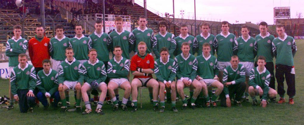 The Stradbally Parish Gaels U-17 team who won the championship final against Portlaoise