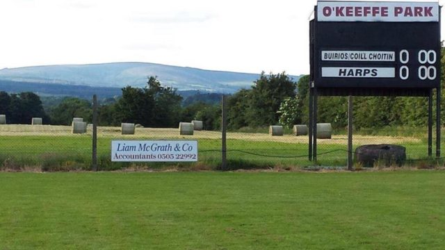Borris-In-Ossory GAA club was the location of a robbery yesterday