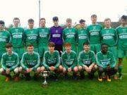 Portlaoise AFC U-19s who were crowned CCFL Premier Division champions on Monday