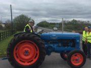 One of the vehicles at the Portlaoise Macra na Feirme tractor run yesterday