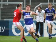 Portlaoise's Gary Saunders will line up at centre back for the Laois U-17s tomorrow night against Louth
