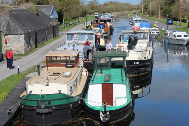 Some of the boats which will appear in Vicarstown over the weekend