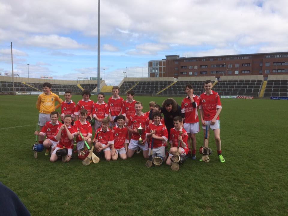 The Clonaslee team that were crowned Laois Feile 'B' champions at the weekend