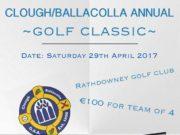 The Clough-Ballacolla GAA golf classic is on the horizon