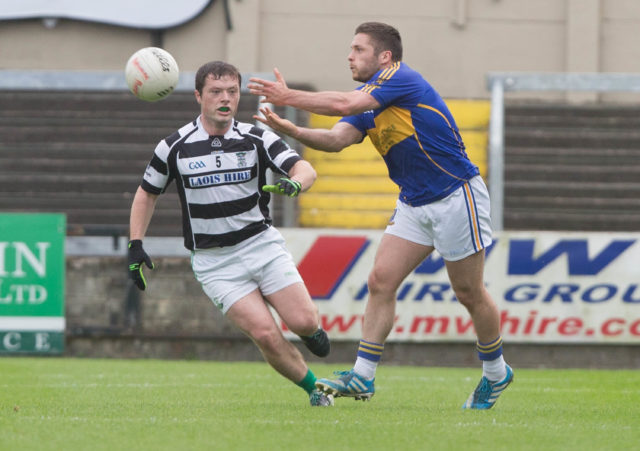 Robbie Kehoe was in action for O'Dempsey's tonight