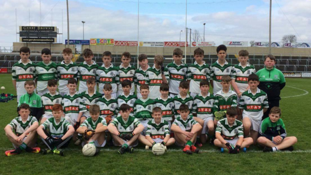 The Portlaoise team who were crowned U-14 Feile champions this afternoon