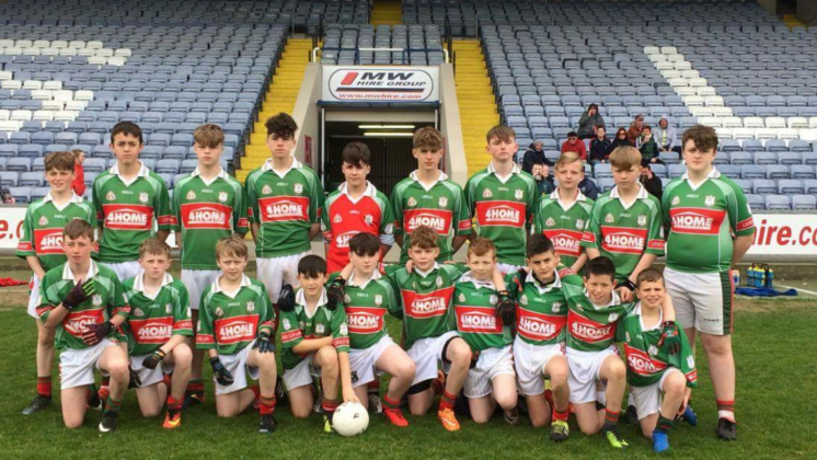 The victorious Graiguecullen team who won the B Feile today