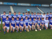 The Laois Minor Hurling team who face Dublin in the Leinster championship today