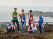 Laois man Liam Delaney, far right, pictured at the Celtic Challenge launch recently
