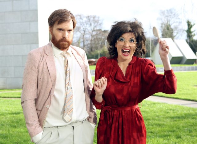 Bridget & Eamon are heading stateside after the Laois comedian's creation was signed