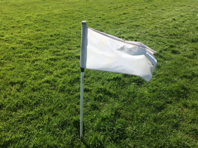 The game between Clonaslee and Rosenallis was abandoned after a serious incident