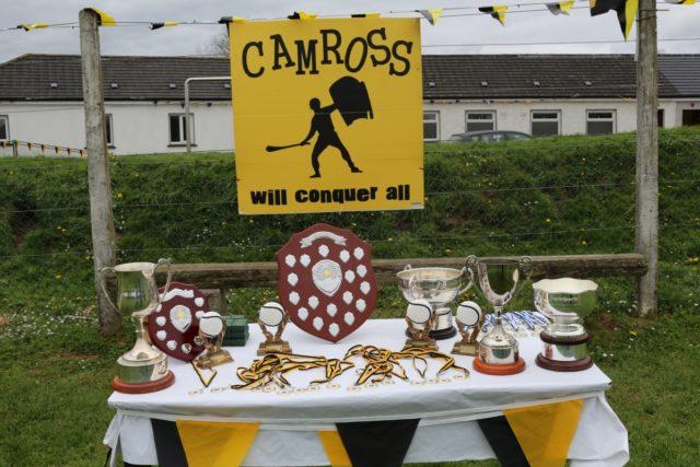 Camross 2016 medal presentation